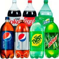 2-Liter Coke or Pepsi Products