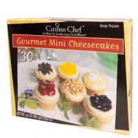 Casino Chef Gourmet Mini Cheesecakes