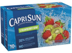 Capri Sun Fruit Drinks - Strawberry Kiwi