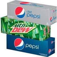 12-Pack Pepsi Products