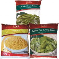 Green Beans or Sweet Corn