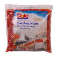 Dole Diced Strawberries