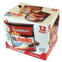 Breadsticks with Nutella Dip To-Go Packs