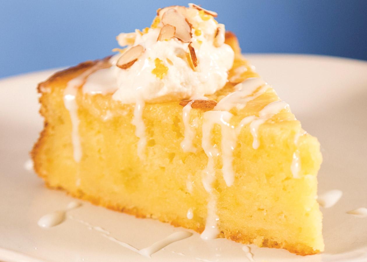 Lemon Olive-Oil Cake