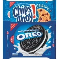Chips Ahoy Chocolate Chip or Nabisco Oreo Cookies