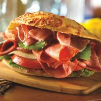 Fresh Sliced Hard or Genoa Salami