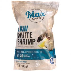 Max Source 31–40 Ct., Medium, Raw, Shrimp