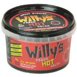 Willy's Hot Salsa