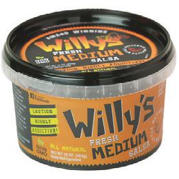 Willy's Medium Salsa