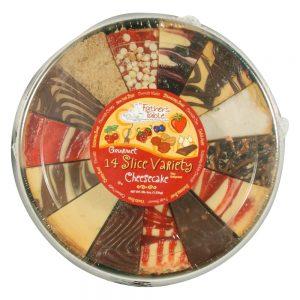 14-Slice Variety Cheesecake
