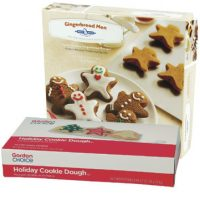 Holiday Shaped Cookie Doughs