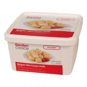 Belgian Mini Cream Puffs