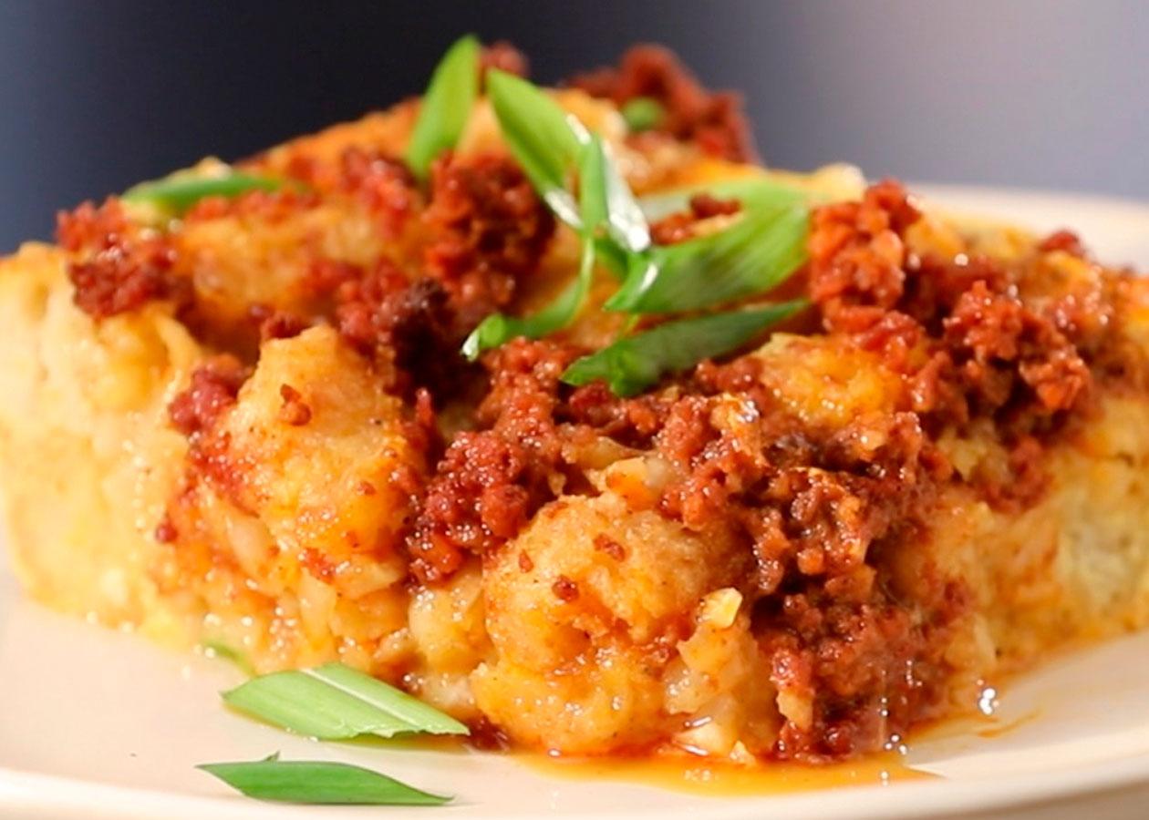 Chorizo Tator Tot Bites