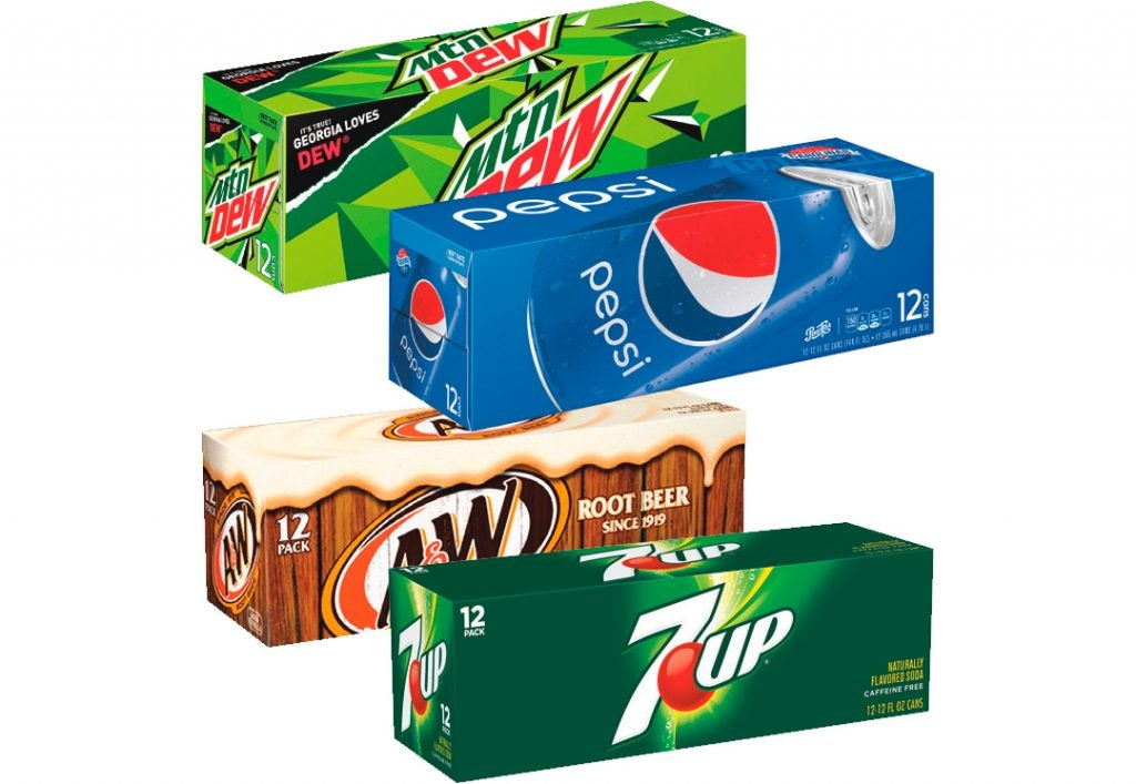 12-Pack Pepsi or 7UP Products