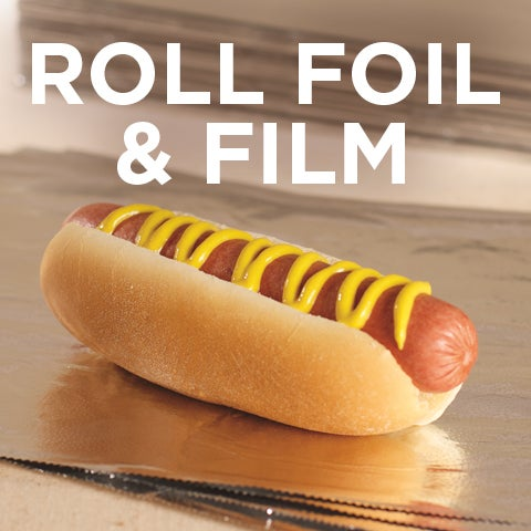 5% Rebate on Roll Foil & Film