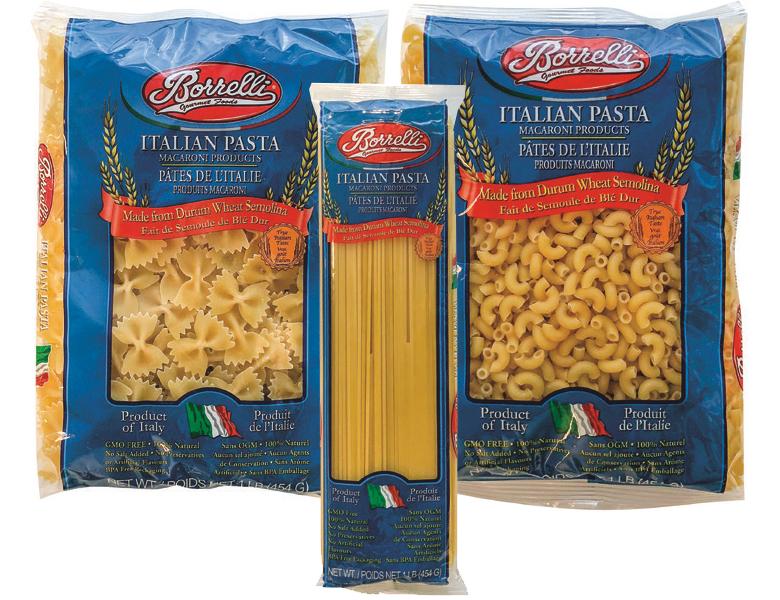 Assorted Borrelli Pastas
