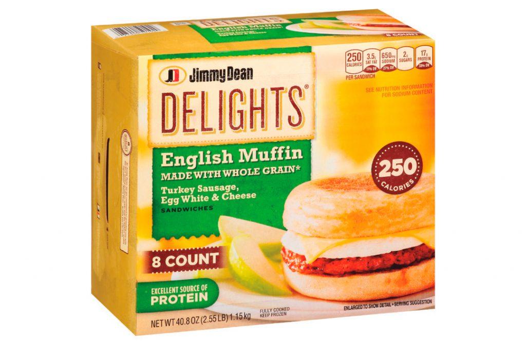 Jimmy Dean Delight Breakfast Sandwiches