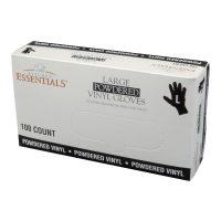 Powdered Vinyl Gloves Large