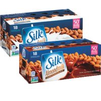 Silk Vanilla or Dark Chocolate Almond Milk