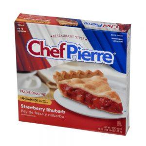 Chef Pierre Strawberry Rhubarb Pie