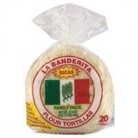 La Bandarita Flour Tortillas