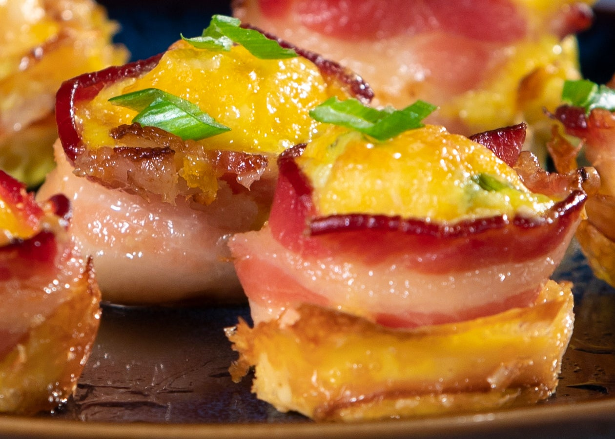 Bacon, Egg, & Cheese Bites